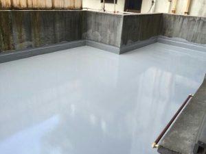 ビルの屋上 防水工事